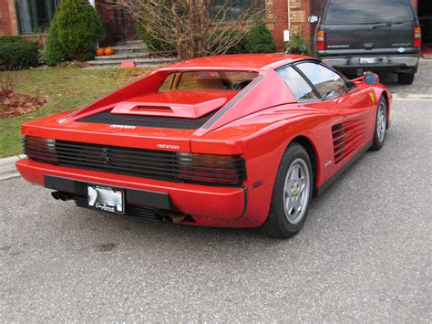 classic ferrari testarossa 1991 ferrari testarossa bramhall classic autos