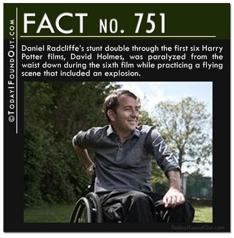 Daniel Radcliffe's Stunt Double Through The First Six