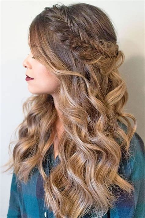 cute homecoming hairstyles for long hair best 25 wedding hairstyles long hair ideas on pinterest