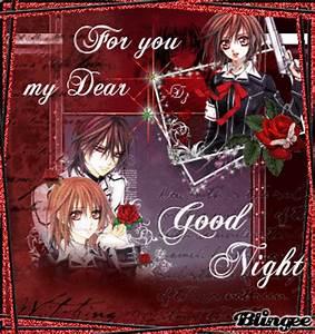 good night my dear friend Picture #128163423 | Blingee.com