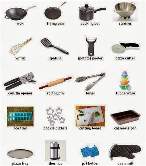 ustensile de cuisine les ustensiles de cuisine et leur nom recherche