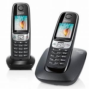 Combiné Téléphone Fixe : telephone sans fil gigaset siemens gigaset c620 duo noir ~ Medecine-chirurgie-esthetiques.com Avis de Voitures