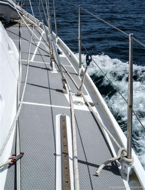 Sailboat Jacklines by Rigging A Proper Preventer Part 2