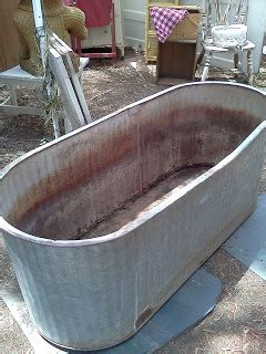 maryland house antiques galvanized oval water trough