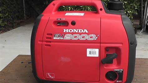 Honda Generator Eu2000i 2000