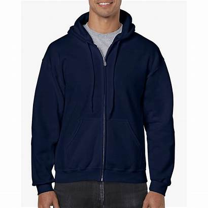 Gildan Hooded Sweatshirt Zip