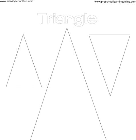 basic shapes tracing pages coloringsnet
