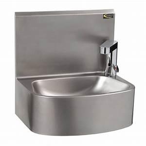 Lave Main Inox : lave mains inox lectronique professionnel monobloc ~ Melissatoandfro.com Idées de Décoration