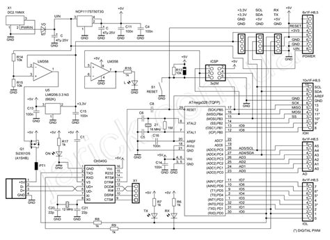 Arduino Uno Circuit Diagram Pdf by Arduino Uno R3 Died