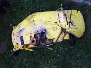 John Deere 265 Burnt  Broken Belt And Broken Spring