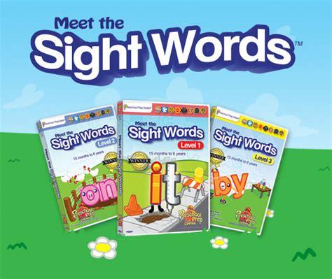 preschool prep company educational dvds books 592 | slider sightwords