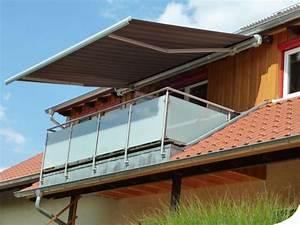 rollomeisterde balkon sonnenschutz online kaufen With markise balkon mit tapete metallic silber