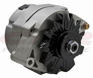 Chevy  Gm 110 Amp 1 Wire Internal Alternator