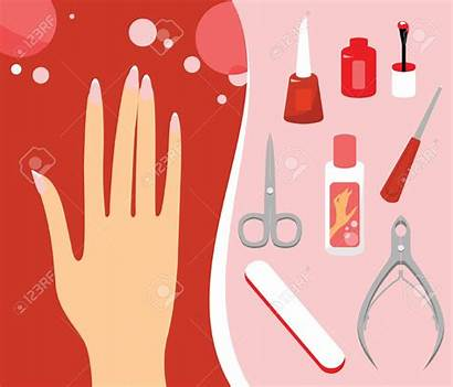 Manicure Clipart Nail Spa Clip Spikar Clipartion