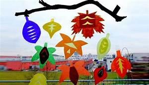 Herbstbasteln Für Fenster : herbstbasteln mit kindern fensterbilder und nat rliche mobile ~ Orissabook.com Haus und Dekorationen