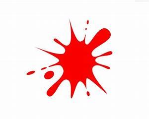 Red ink splash | PhotosInBox