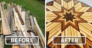 Clever Artist Collects Scrap Wood From All Over New York