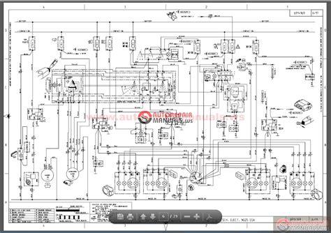 Bobcat Wiring Schematic by Bobcat Skid Steer Wiring Diagram Wiring Diagram
