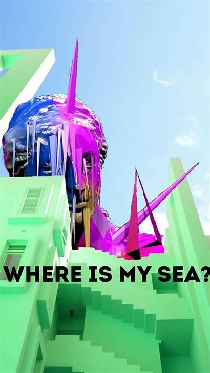 Vaporwave Wallpapers Phone Sea Aesthetic Backgrounds Meme