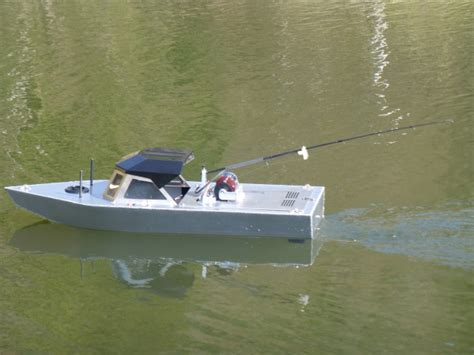 Real Rc Fishing Boat by Fishing Boat