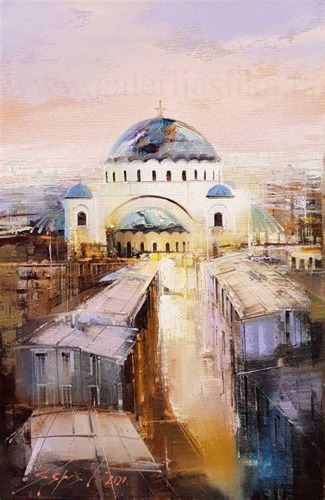 Dejan Slepcevic 50x30 cm - Galerija prodaja slika Beli ...