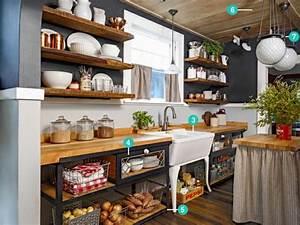 Stauraum Kleine Küche : kleine k che einrichten landhausk che mit viel stauraum wohnungsideen pinterest k che ~ Markanthonyermac.com Haus und Dekorationen