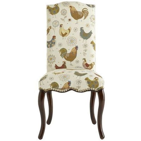 claudine dining chair rooster for the home