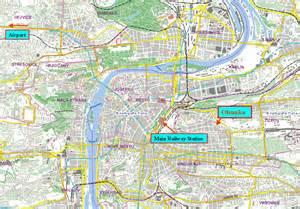 Prague Tram Map