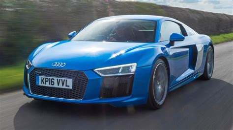 Review The Standard, 540bhp Audi R8 V10  Top Gear
