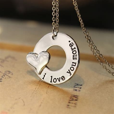 """i Love You More"" Necklace"