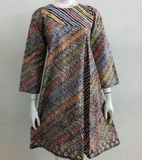 model kombinasi pakaian batik wanita