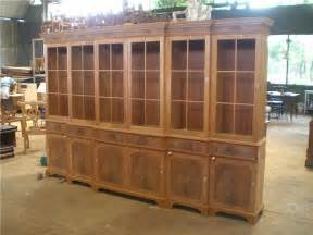 Built In Dining Room Hutch by Large Mahogany China Cabinet Large Breakfront Extra