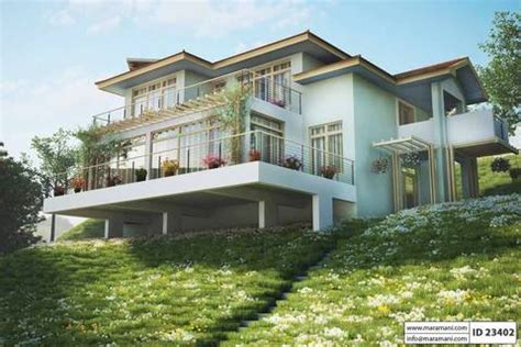 steep slope house plan   bedrooms id  maramanicom