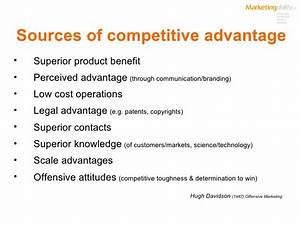 Competitive Advantage and Learning