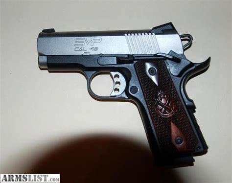 Armslist  For Sale Springfield Compact Emp 40 Cal Auto