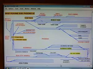 My Bnsf Peavine Sub Track Plan