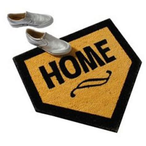 Home Plate Doormat by Home Plate Mat The Green