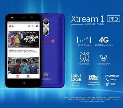 Xtream 1 PRO Hadir Spek 4G 5 inch Murah (Evercoss M50