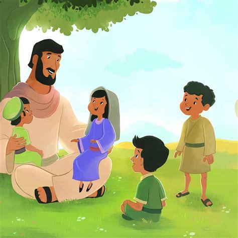 jesus blessed  children bible lesson  children childrens bible activities sunday