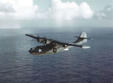 Flying Boat Us Navy by Consolidated Pby