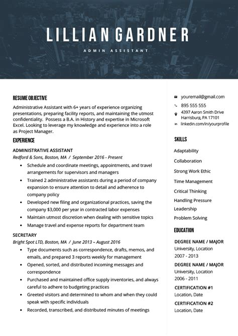 resume objective examples writing guide resume genius