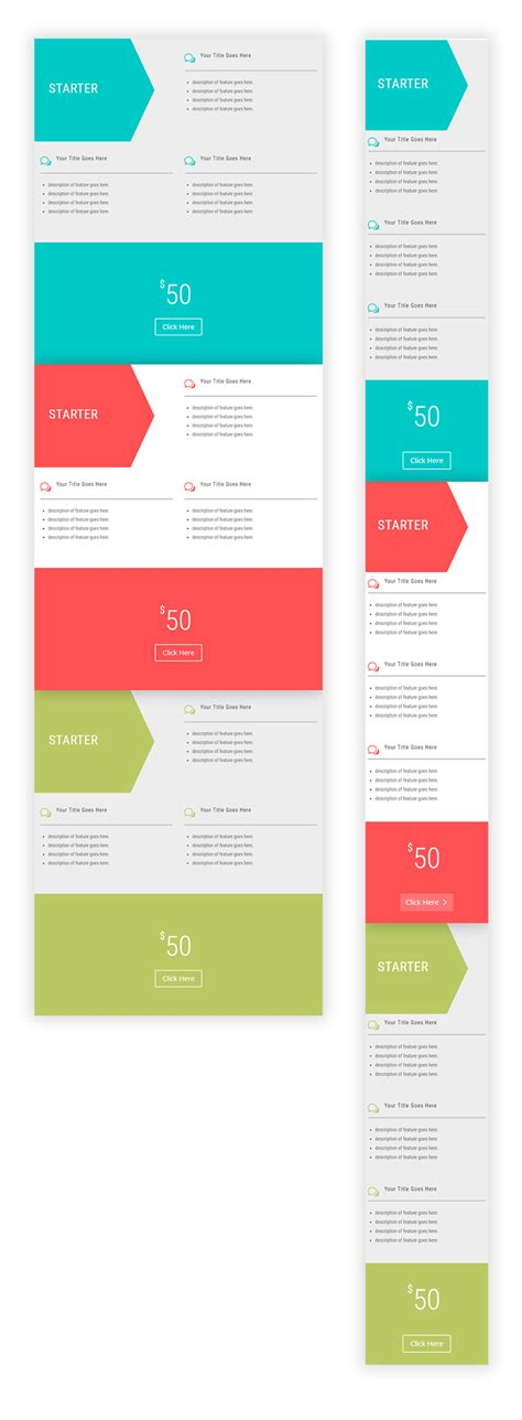 Divi Pricing How To Create Horizontal Pricing Tables With Divi