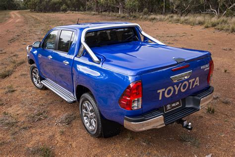 toyota hilux receives  plethora  rugged accessories