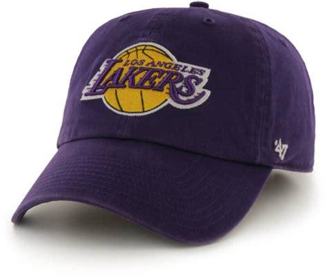 '47 Men's Los Angeles Lakers Purple Clean Up Adjustable ...