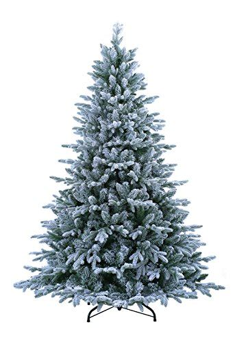 sterling nine foot flocked led trees abusa pre lit tree 9 ft flocked snow with 900 led clear lights 2497 br 600156063067 ebay