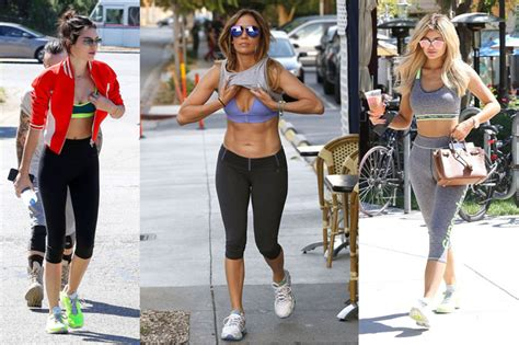 10 Awesome Celeb Gym Outfits That Will Make You Want To ...