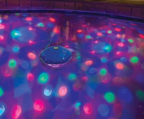 swimming pool underwater light show disco lights for a