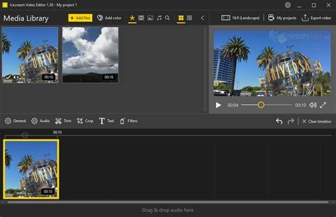 Icecream Video Editor 2.38 Free Download - FreewareFiles ...