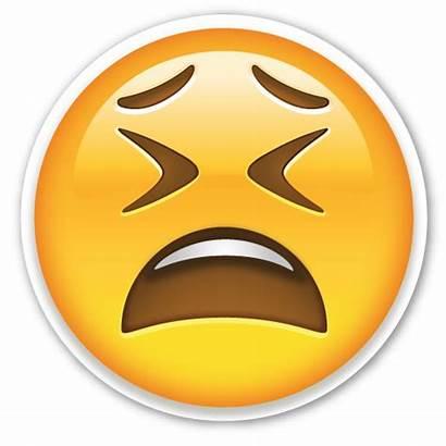 Emoji Tired Face Head Sticker Stickers Emojis