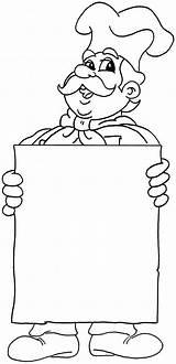 Chef Coloring Para Menu Sheets Caricatura Cocina Lista Cocinero Pages Infantil Pizarra Favorite Imprimir Pasar Kitchen Adult Pintar Material Beatriz sketch template